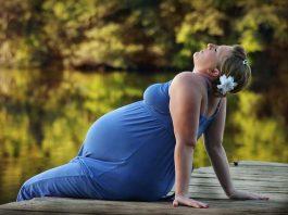 femme enceinte en été
