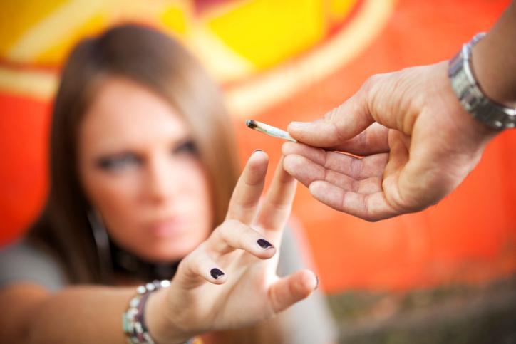 Cannabis-dependance